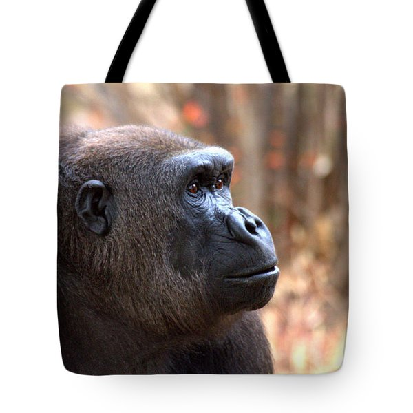the Gorilla thinks Tote Bag