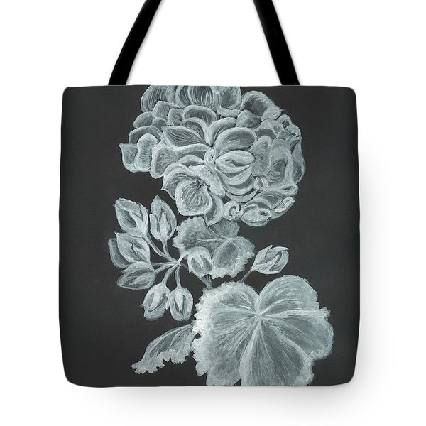 The Gossamer Geranium Tote Bag by Carol Wisniewski