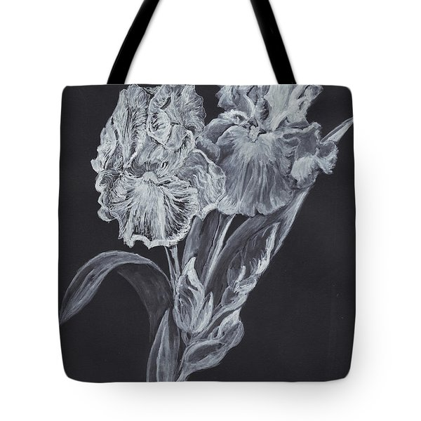 The Gossamer Iris Tote Bag by Carol Wisniewski