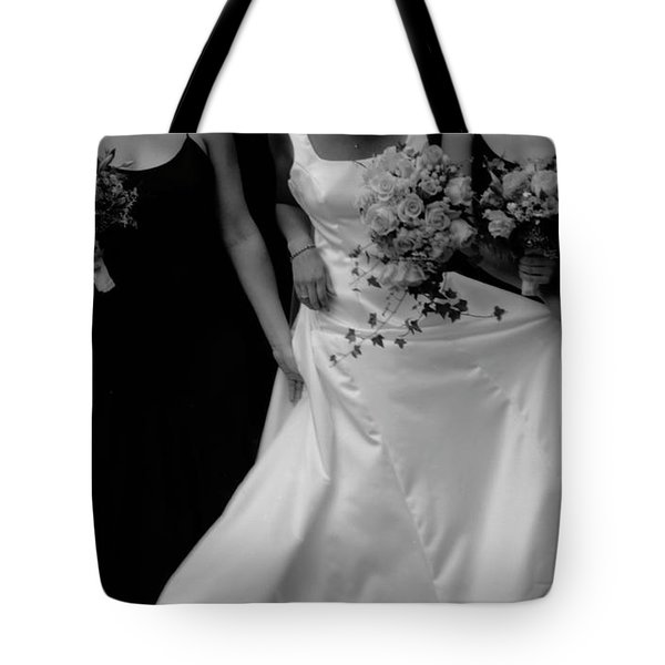 Tote Bag featuring the photograph The Gown by Wayne King