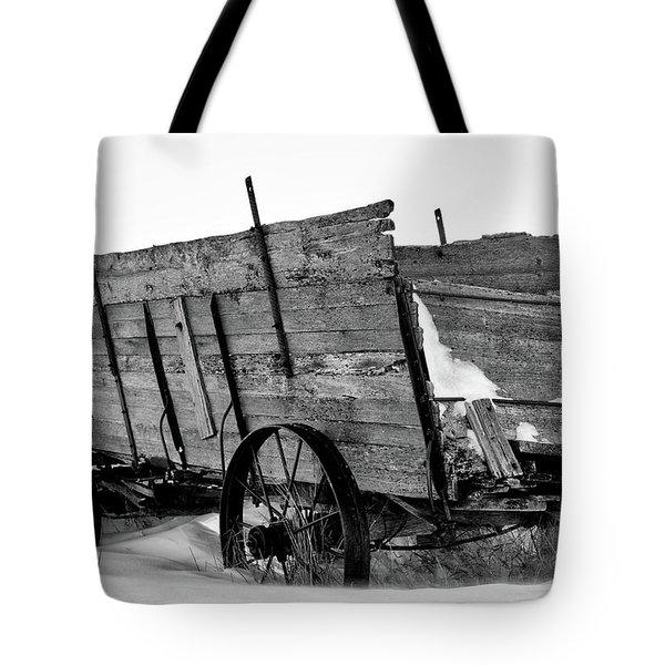 The Grain Wagon Tote Bag