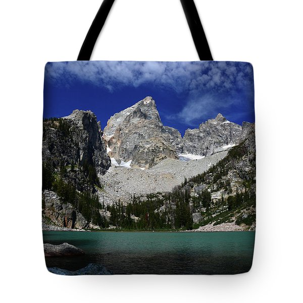 The Grand And Mount Owen From Delta Lake Tote Bag