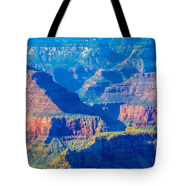 The Grand Canyon Peaks Tote Bag by Alex Grichenko