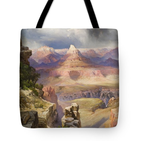 The Grand Canyon Tote Bag by Thomas Moran