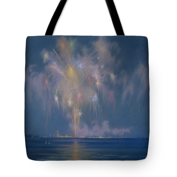 The Grand Finale Tote Bag by Lendall Pitts