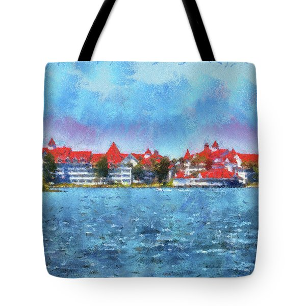 The Grand Floridian Resort Wdw 03 Photo Art Mp Tote Bag