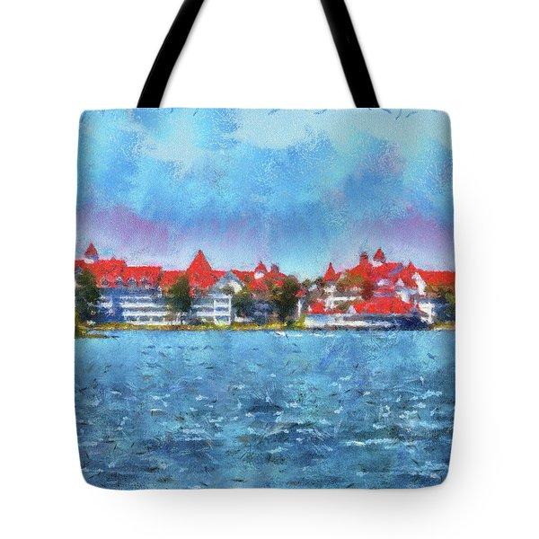 The Grand Floridian Resort Wdw 03 Photo Art Mp Tote Bag
