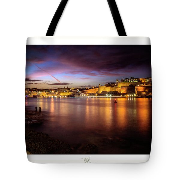 The Grand Harbour Tote Bag