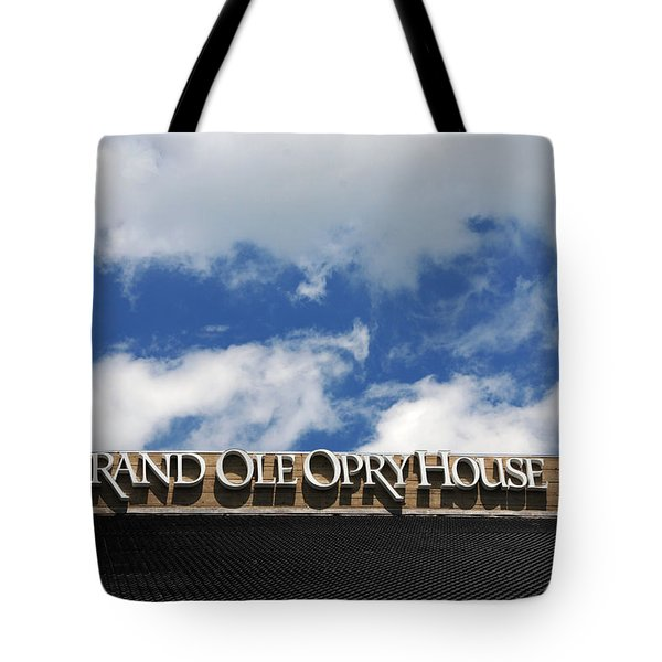 The Grand Ole Opry Nashville Tn Tote Bag by Susanne Van Hulst