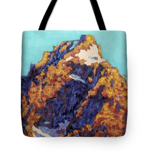 The Grand Teton Tote Bag by Abbie Groves