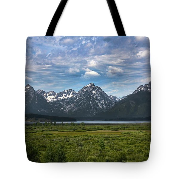 The Grand Tetons Tote Bag
