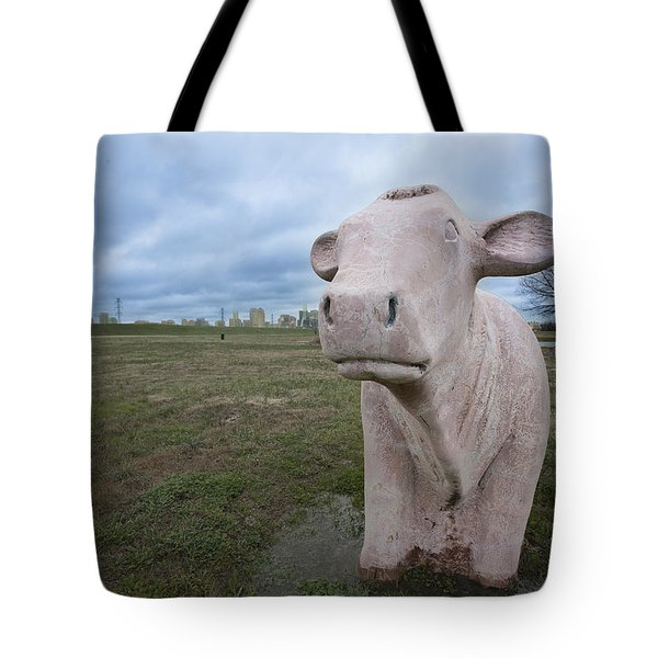 The Granite Cow Tote Bag