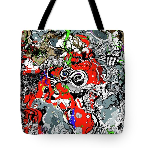 The Grapevine Wall Section 1 Tote Bag