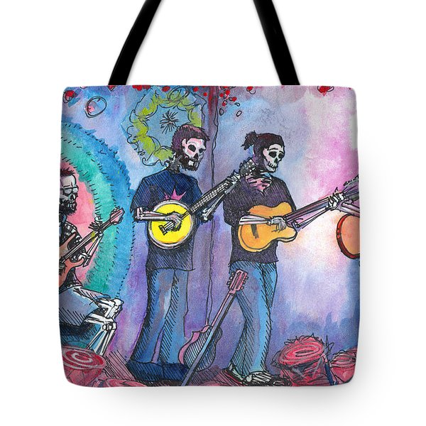 The Grass Is Dead Tote Bag by David Sockrider
