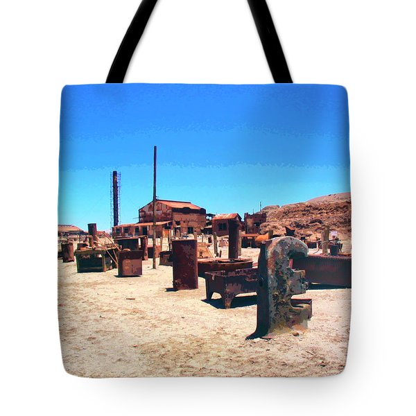 The Graveyard Tote Bag by Dominic Piperata