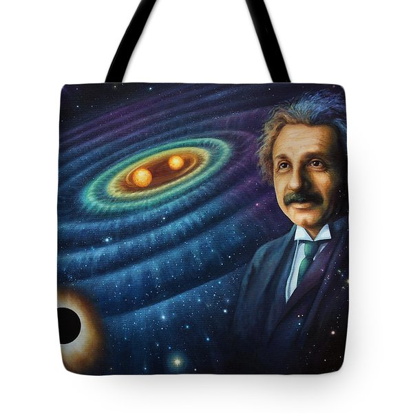 The Gravity Of Thought Tote Bag
