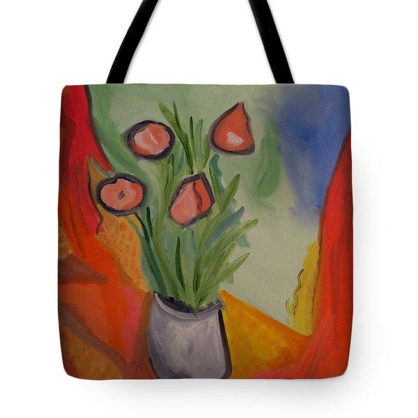 The Gray Vase Tote Bag