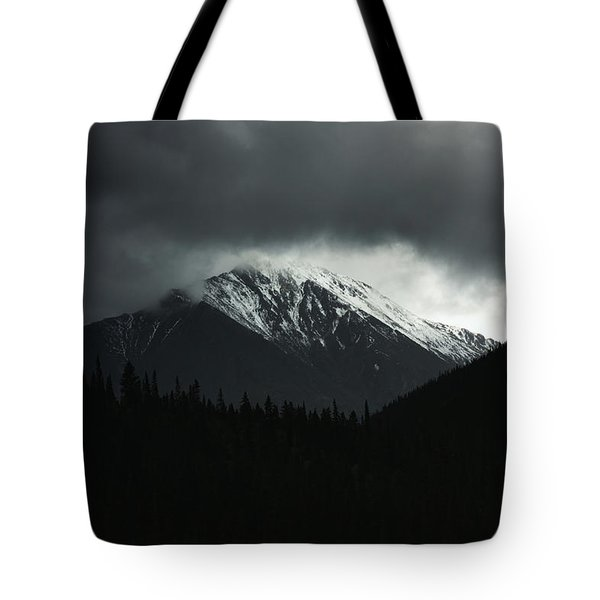 Turbulence Over Torreys Tote Bag