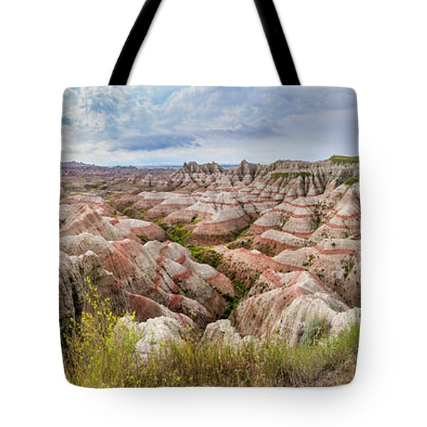 Deep And Wide Panorama Tote Bag