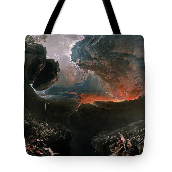 The Great Day Of His Wrath Tote Bag by Charles Mottram