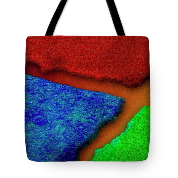 Tote Bag featuring the photograph The Great Divide by Paul Wear