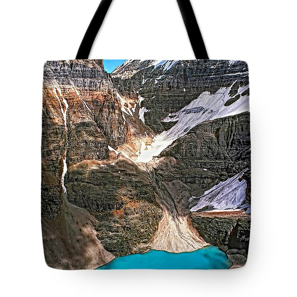 The Great Divide Tote Bag by Steve Harrington