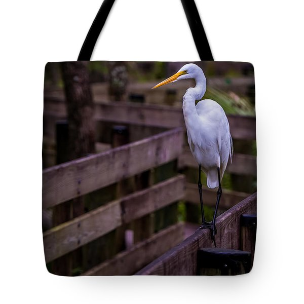 The Great Egret Tote Bag