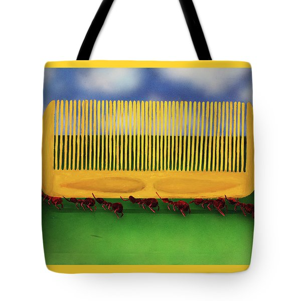 The Great Escape Tote Bag by Thomas Blood
