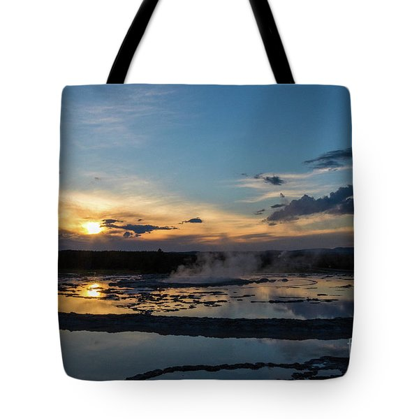 The Great Fountain Geyser Tote Bag