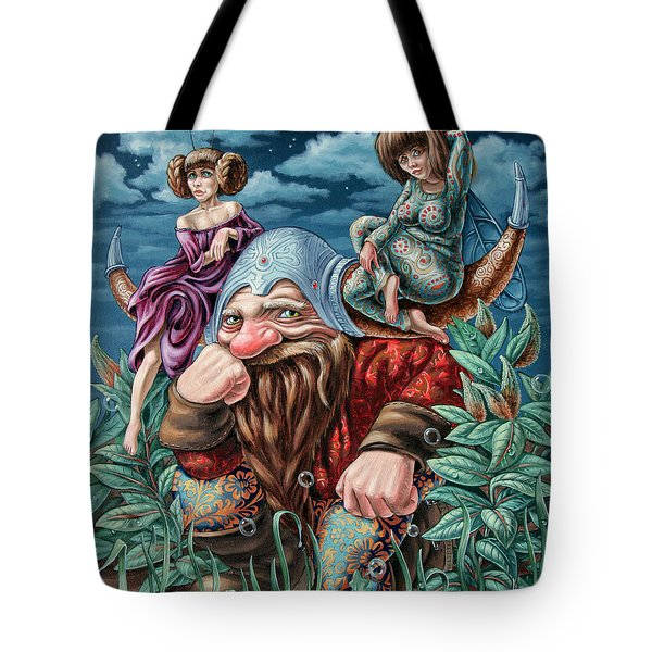 The Great Horns Tote Bag