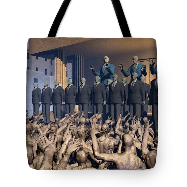 The Great Mud Revolt Tote Bag
