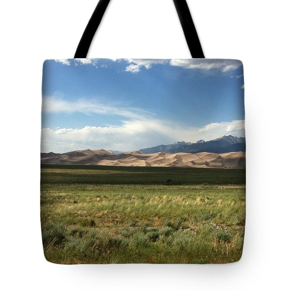The Great Sand Dunes Tote Bag by Christin Brodie