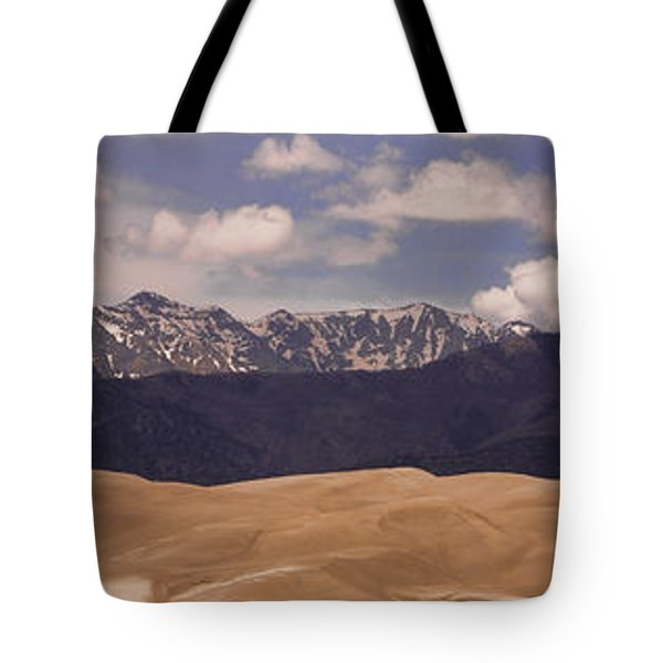 The Great Sand Dunes Panorama 1 Tote Bag by James BO  Insogna