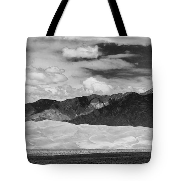 The Great Sand Dunes Panorama 2 Tote Bag by James BO  Insogna