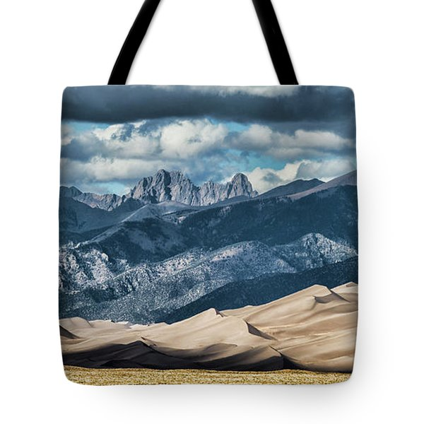 The Great Sand Dunes Panorama Tote Bag