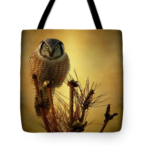 The Great Stare Down Tote Bag