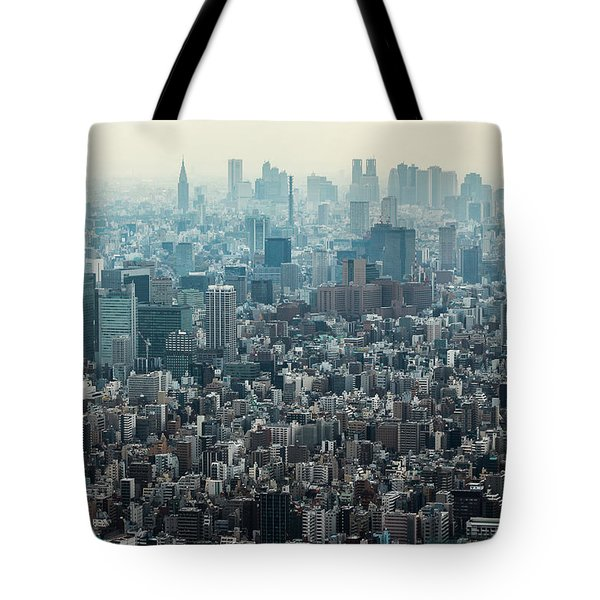 The Great Tokyo Tote Bag by Peteris Vaivars
