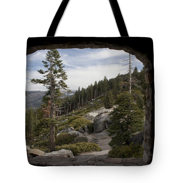 The Great View Of Yosemite Tote Bag by Ivete Basso Photography