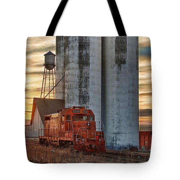 The Great Western Sugar Mill Longmont Colorado Tote Bag