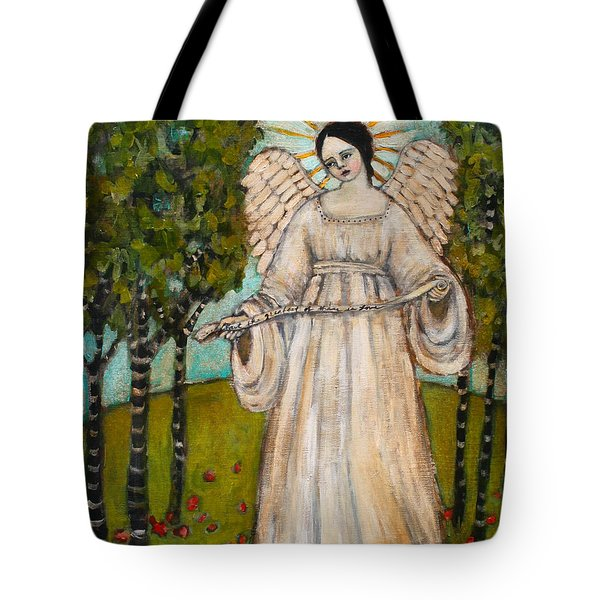 The Greatest Of These Is Love Tote Bag by Jane Spakowsky