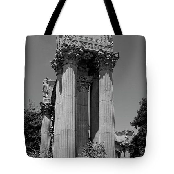 The Greek Architecture Tote Bag