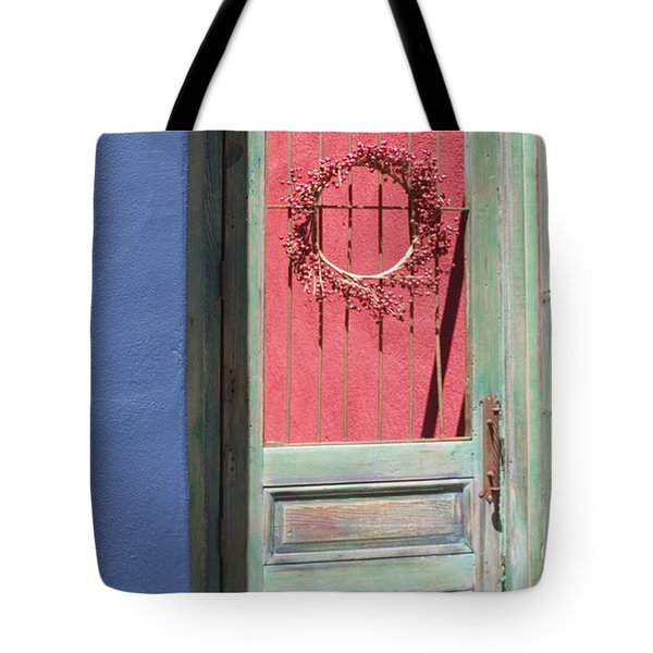 The Green Door Tote Bag