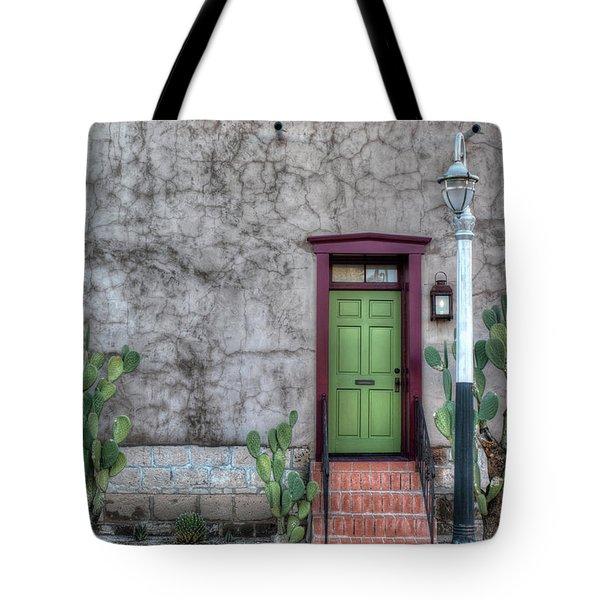 The Green Door Tote Bag