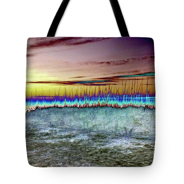 The Green Flash Tote Bag