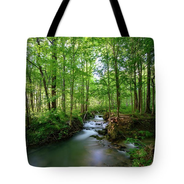 The Green Forest Tote Bag