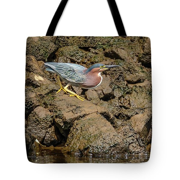 The Green Heron Tote Bag