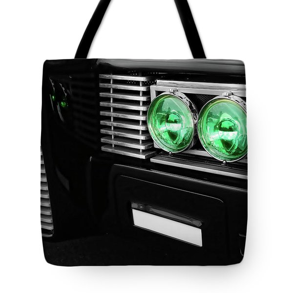 The Green Hornet Black Beauty Clone Car Tote Bag by Gordon Dean II