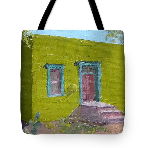 The Green House Tote Bag