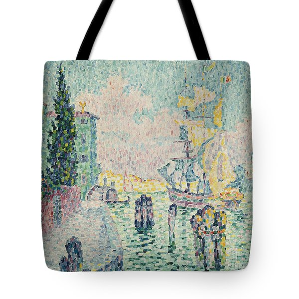 The Green House, Venice Tote Bag