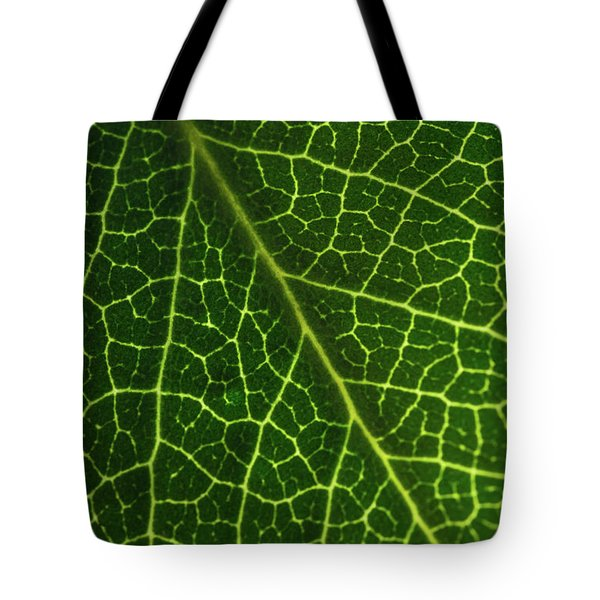 Tote Bag featuring the photograph The Green Network by Ana V Ramirez